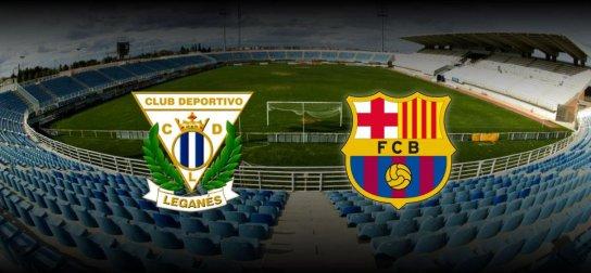 برشلونة وليجانيس بث مباشر