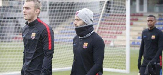 0032015954cbb VIDEO: Mascherano, Rafinha aj Dembélé trénovali!   ForcaBarca.sk ...