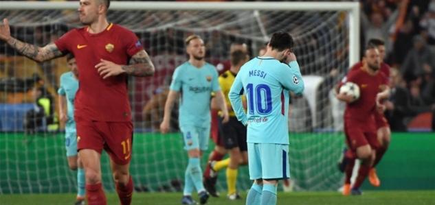 49632aa19 FC Barcelona včera zažila šok, keď po otrasnom výkone dokázala na Olimpico  prehrať 3:0 a hoci v prvom zápase vyhrala 4:1, pohárová matematika nepustí  ...