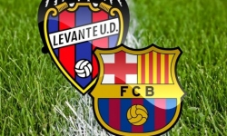 ZOSTAVY: Levante UD - FC Barcelona