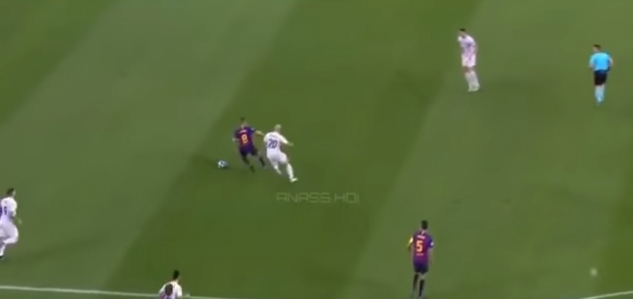 VIDEO: 'Xavi' vs Inter Miláno