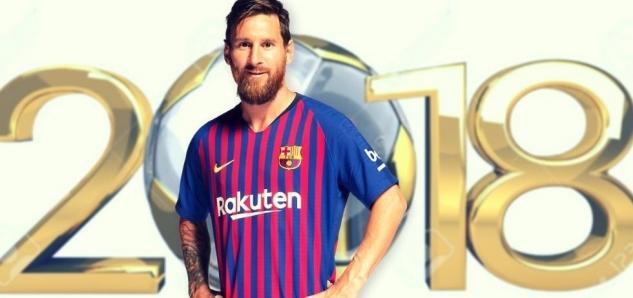 ae54d7de56bab Lionel Messi sa stal oficiálnym spôsobom najlepším strelcom kalendárneho  roka 2018. Podarilo sa mu tak prekonať svojho tradičného rivala a  prenasledovateľa ...